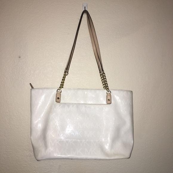 95a636952482 Michael Kors Bags | White Plastic Micheal Kors Purse | Poshmark